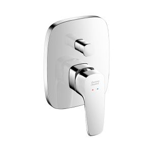 Signature concealed bath and shower mixer with conceal body
