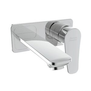 MILANO IN-WALL BASIN MIXER W/OUT POP-UP DRAIN
